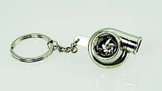 Spinning TURBO Keychain NEW Civic Mustang VW Beetle Golf GTI 911