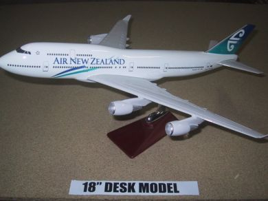 Air New Zealand Boeing B747 1/133 Scale Executive Model
