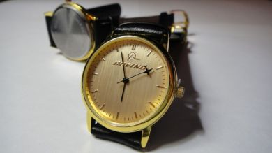 Official Gold color quartz watch