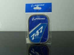 Boeing 747 iron-on patch