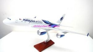 Malaysia Airline AIRBUS A380 Airplane model
