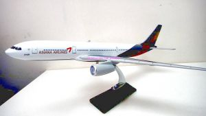 Asiana Airlines model airplane