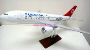 Turkish Airlines Model Airplane