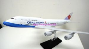 "China Airline 18"" Boeing 747 travel agent model"