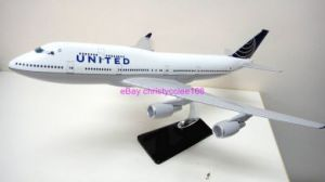 United Continental BOEING B747 Airplane Model