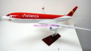 Avianca Airline Airplane Model