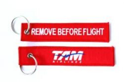 2pcs TAM Airlines Keychain Baggage Tag Luggage Flag Address ID tag for CREW PILOT FLIGHT ATTENDANT UNIFORM