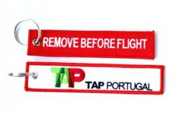2pcs TAP Portugal Airlines Keychain Baggage Tag Luggage Flag Address ID tag for CREW PILOT FLIGHT ATTENDANT UNIFORM