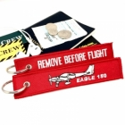 Eagle 150 Aircraft Remove Before Flight tag keychain