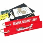 Cessna C210 Remove Before Flight tag keychain