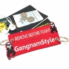 Gangnam Style I'm Riding Remoe Before Flight keychain tag