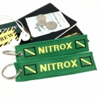 Scuba Diver Nitrox Green oxygen tank and bag tag keychain