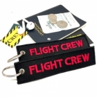 Flight Crew Cabin Crew Remove Before Flight Style luggage bag tag keychain