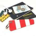 Windsock Airport Pilot Cabin Crew luggage bag tag keychain