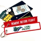 Cebu Pacific REMOVE BEFORE FLIGHT attendant pilot luggage bag tag keychain