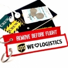 UPS VIP keychain luggage bag tag