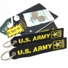 US Army luggage tote bag tag keychain