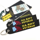 US Navy Veteran luggage tote bag tag keychain